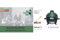 Big Green Egg MiniMax inkl. Distler-Gastro Starter-Paket
